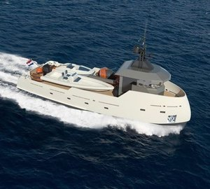 24m superyacht Project YXT One by Lynx Yachts and Diana Yacht Design