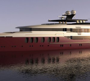 CMB Yachts nominated for IY&A Award 2014 with 47m motor yacht MIRACLE concept