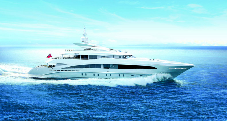 50m superyacht MONACO WOLF (Project Azuro, YN 16650) by Heesen Yachts