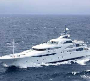 Blohm + Voss announces delivery of 82m super yacht GRACEFUL
