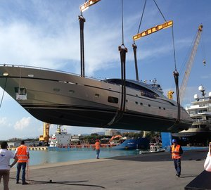 AB Yachts - FIPA Group launch new AB116 superyacht