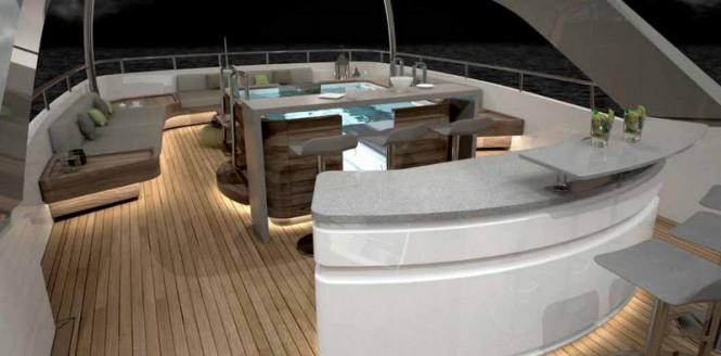 Aboard Sanlorenzo SD126-40 superyacht