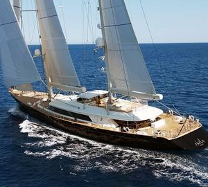 Rig refit for 56m Perini Navi sailing yacht ASAHI at RSB Rigging Solutions