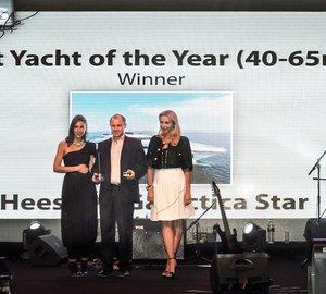 Heesen Superyacht GALACTICA STAR awarded 'Best Luxury Yacht' at Arabian Business Lifestyle Awards 2014