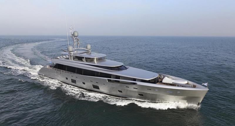Dubois-designed 46m motor yacht COMO - Image courtesy of Feadship