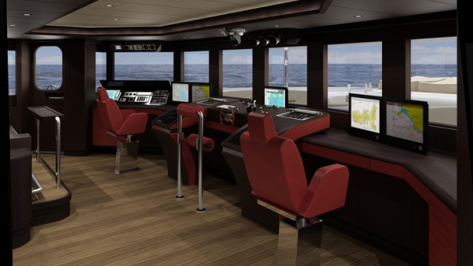 FOREVER ONE Yacht - Wheelhouse