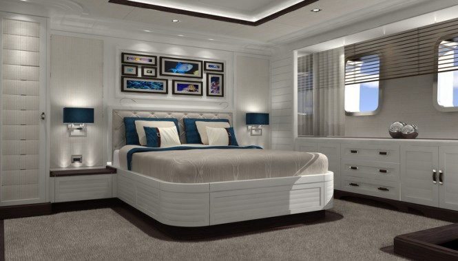 FOREVER ONE superyacht - Guest cabin