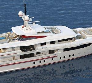 ISA 54M Fully Custom Steel Aluminium Motor Yacht FOREVER ONE