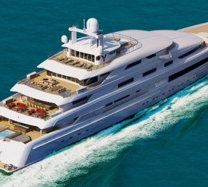New super yacht construction building for PRIDE MEGA YACHTS
