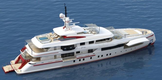 Luxury motor yacht FOREVER ONE
