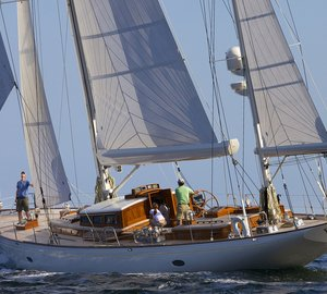 Stephens Waring-designed BEQUIA Yacht wins her class at St Barths Bucket 2014