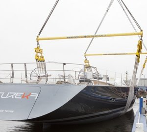 New 45m sailing yacht HEUREKA (ex YIII or Y3) launched by Holland Jachtbouw