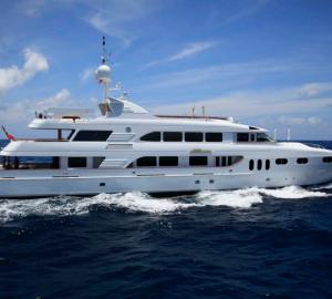 THAILAND YACHT CHARTER aboard luxurious 54m (177') MOTOR YACHT KERI LEE III