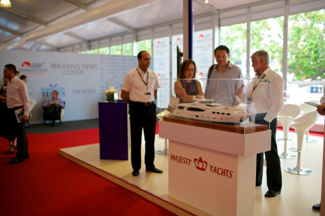 Majesty Yachts at SYS