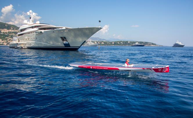Monaco Sea Trials ahead of the Solar1 Monte Carlo Cup 2014