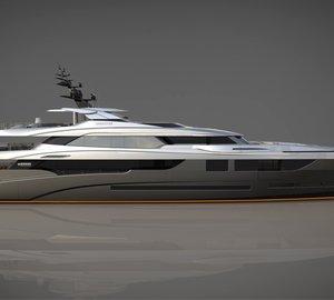 Keel laying of first 60m Mondo Marine motor yacht SARASTAR (M60)