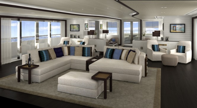 Motor yacht FOREVER ONE - Main Saloon