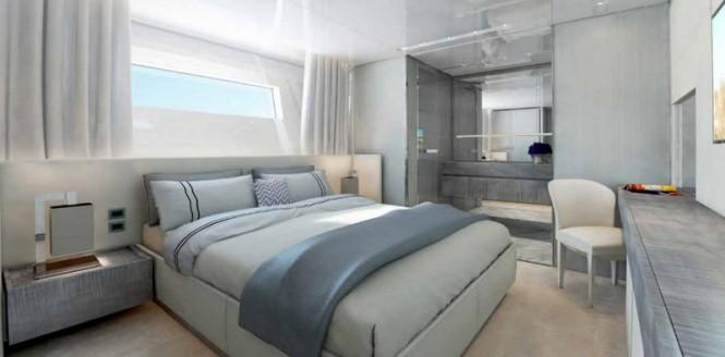Motor yacht SD126-40 VIP Cabin