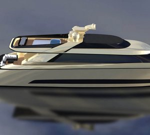 IP.YD studio reveals new motor yacht PRIMO 103 design