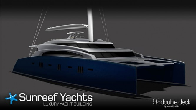 New superyacht Sunreef 92 Double Deck project unveiled by Sunreef Yachts