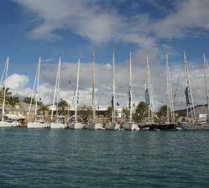 Oyster Regatta Antigua 2014 with participation of 35 Oyster yachts