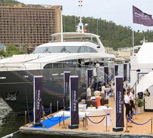 This year's China Rendez-Vous the best ever for Princess Yachts
