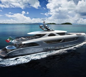Keel laying ceremony for Admiral motor yacht 'E Motion 52' and 'E Motion 55' Yacht