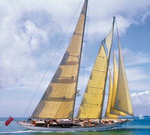 Royal Huisman sailing yacht Borkumriff IV to once again attend Superyacht Cup in Palma