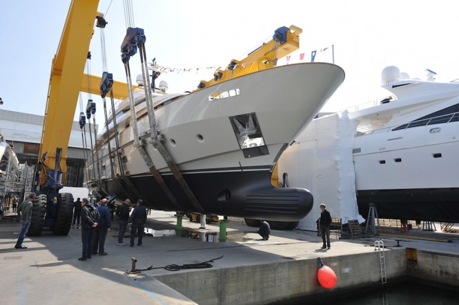 Sanlorenzo SD112 Yacht O Launched