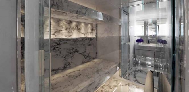Sanlorenzo SD126-40 Yacht Owners Bathroom