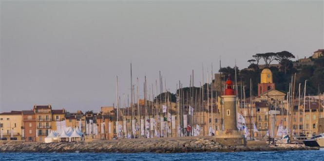 The popular Mediterranean yacht charter destination - St Tropez will host three days of inshore racing and the start of the Giraglia Rolex Cup - Image by Rolex Carlo Borlenghi