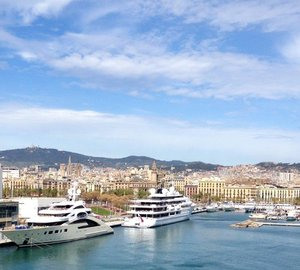 Marina Port Vell enjoying brisk yachting activity