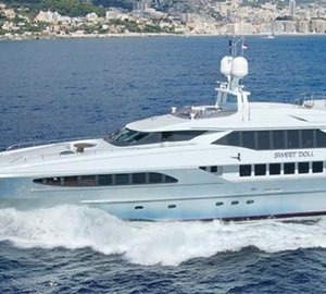 46m Heesen motor yacht SWEET DOLL to be displayed at Antibes Yacht Show
