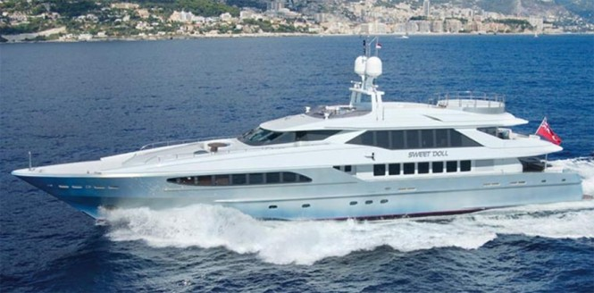 Luxury yacht Sweet Doll - Image by Heesen Yachts