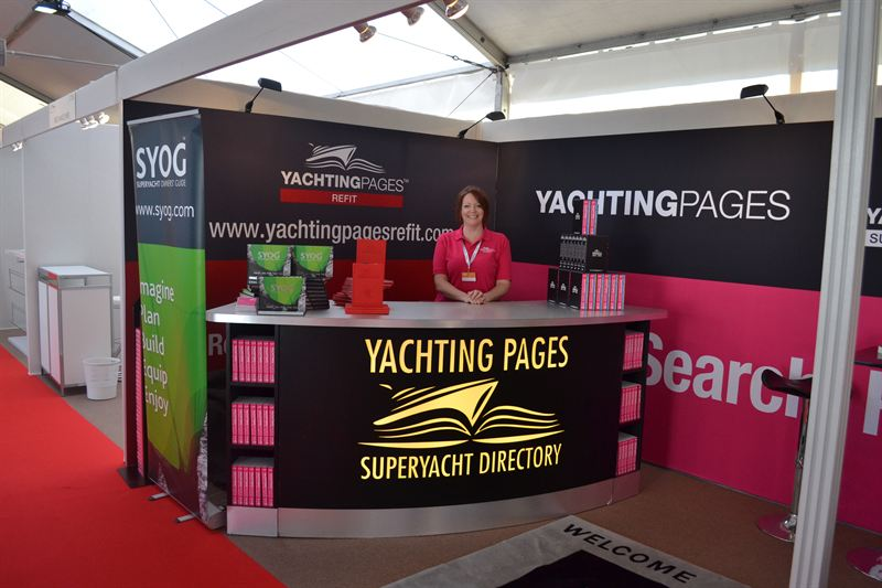 Yachting Pages at the 2014 Antibes Yacht Show