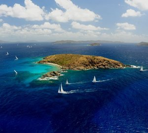 Final Day of BVI Spring Regatta and Sailing Festival 2014