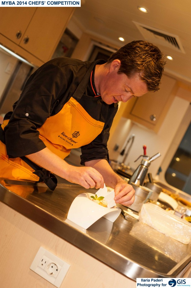 2014 MYBA Chefs' Competition - Chef in action