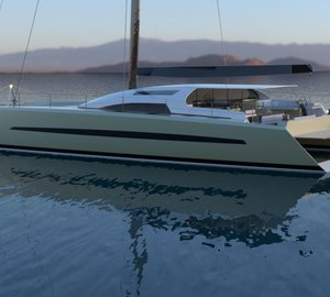 Update on 24m sailing yacht SIG80 design by Le Breton Yachts