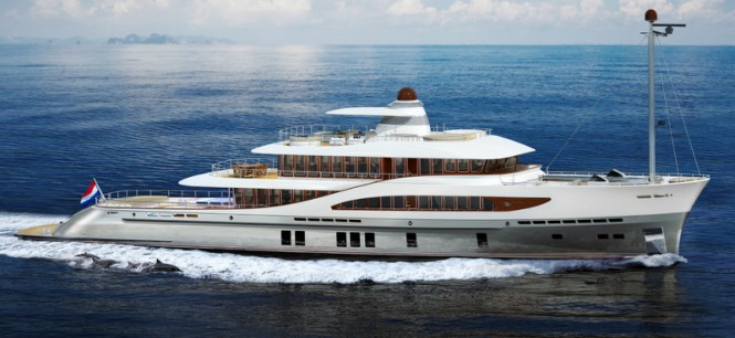 50m expedition yacht Z164 by Zeelander Yachts