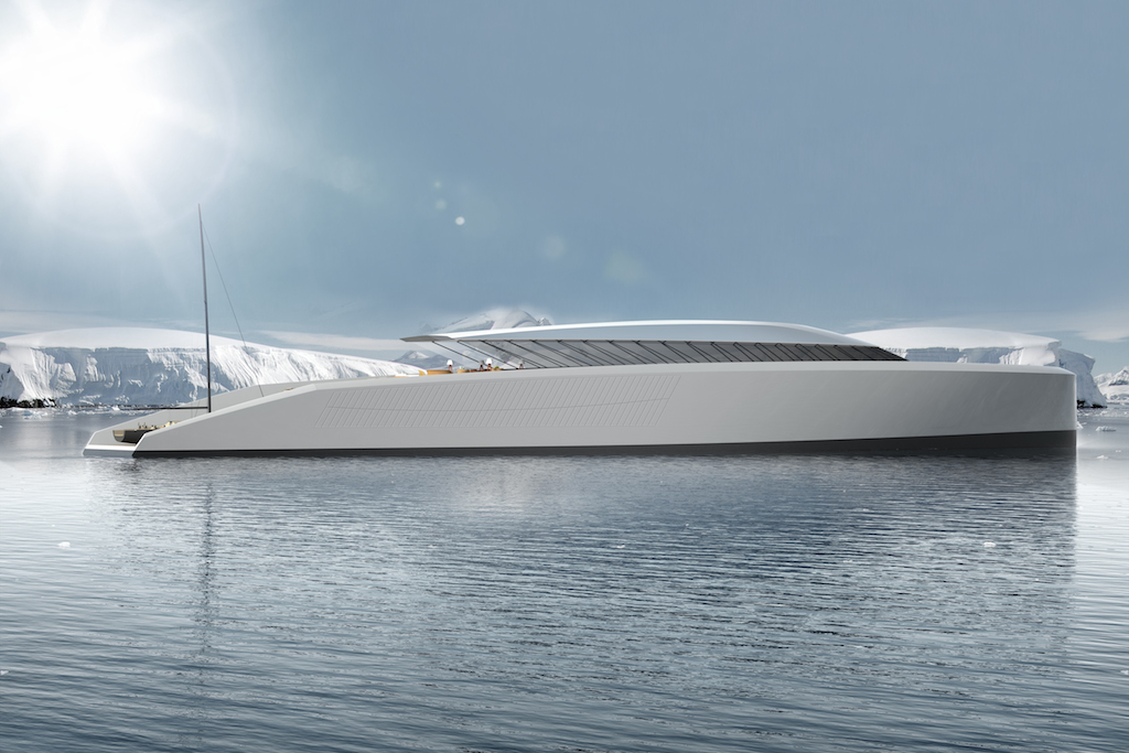90m X-KID STUFF Superyacht - Closed Profile - Credits Pastrovich