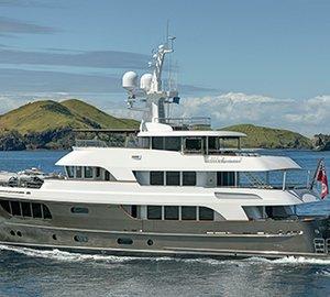 World Superyacht Award 2014 for Alloy explorer yacht CaryAli