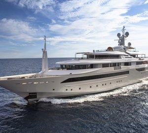 CRN 129 80m mega yacht CHOPI CHOPI receives World Superyacht Award 2014