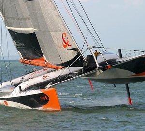 Multiplast to give second life to catamaran ORANGE II to be renamed sailing yacht VITALIA II