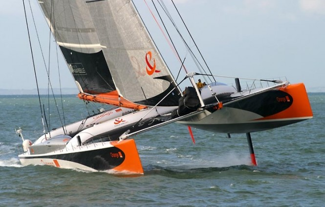 Catamaran ORANGE II to be refitted by Multiplast and renamed sailing yacht VITALIA II