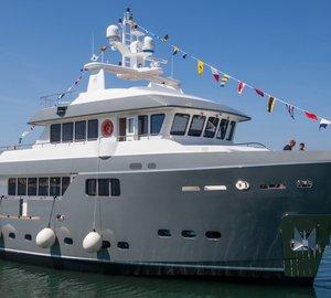 Cantiere delle Marche announces launch of Darwin Class 86 motor yacht GRA NIL