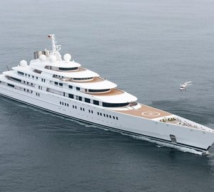 Launch of 66m motor yacht ESTER III (Project GREEN, hull 13685) at Lurssen
