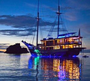 Beautiful New 51m Sailing Yacht DUNIA BARU Indonesia Yacht Charter Special