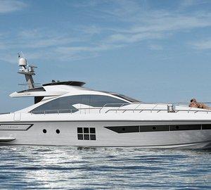 Brand new motor yacht Azimut 77S unveiled by Azimut Yachts