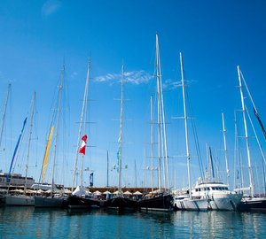 First day of Palma Boat Show 2014