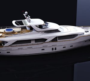 Launch of new Benetti Sail Division motor yacht BLUE BERRY